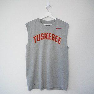 Nike Tuskegee Nike Tee Mens Size Large Sleeveless